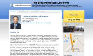 Bradhendrickslaw.net thumbnail