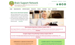 Brainsupportnetwork.org thumbnail