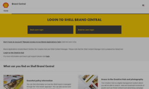 Brandcentral.shell.com thumbnail