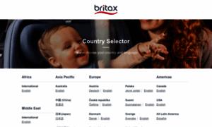 Britax.com thumbnail