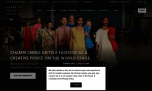 Britishfashioncouncil.co.uk thumbnail