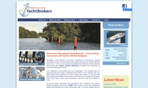 Broadlandyachtbrokers.co.uk thumbnail
