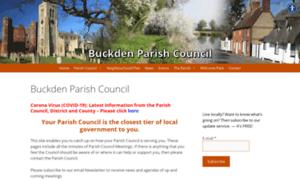 Buckdenparishcouncil.org.uk thumbnail