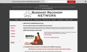Buddhistrecovery.org thumbnail