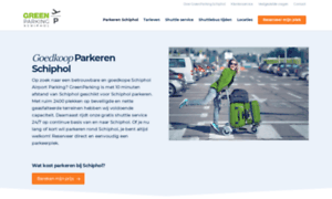 Budgetparkingschiphol.nl thumbnail