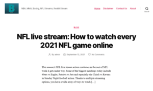buffstream.club - Buffstreams  NBA, MMA, Boxing, NFL Streams, Reddit Stream