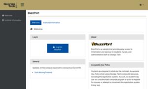 Buzzport.gatech.edu thumbnail