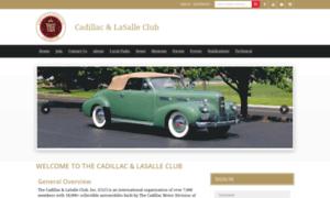 Cadillaclasalleclub.org thumbnail