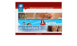 Caf71.fr thumbnail