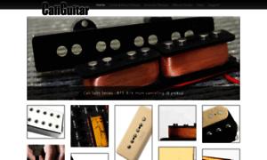 Caliguitar.com thumbnail