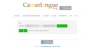 Camerlangue.org thumbnail