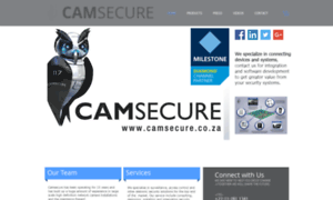 Camsecure.co.za thumbnail