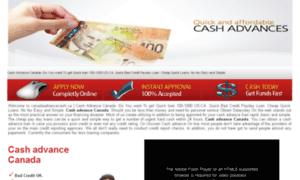 Canadaadvancecash.ca thumbnail