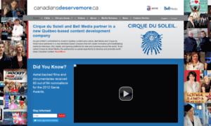 Canadiansdeservemore.ca thumbnail