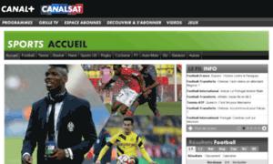 Canalplus-maurice.sports.fr thumbnail
