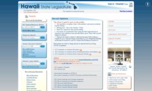 Capitol.hawaii.gov thumbnail