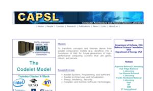 Capsl.udel.edu thumbnail