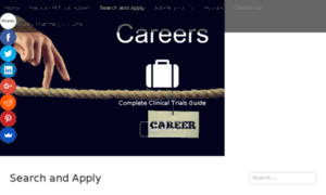 Careers.completeclinicaltrialsguide.co.uk thumbnail
