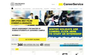 Careerservice.polimi.it thumbnail