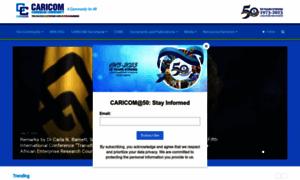 Caricom.org thumbnail