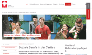 Caritas-soziale-berufe.de thumbnail