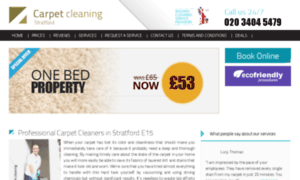 Carpet-cleaning-stratford.co.uk thumbnail