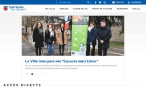 Carrieres-sur-seine.fr thumbnail