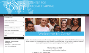 Carta.agnesscott.edu thumbnail