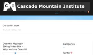 Cascademountaininstitute.com thumbnail