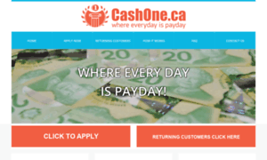 Cashone.ca thumbnail
