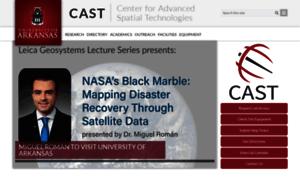 Cast.uark.edu thumbnail