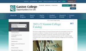 Catalog.gaston.edu thumbnail