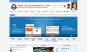 Cbec.gov.in thumbnail