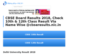 Cbse.results-nic.in thumbnail