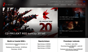 Cdprojekt.com thumbnail