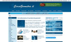 Cercageometra.it thumbnail