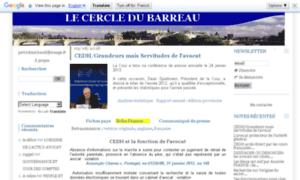 Cercle-du-barreau.org thumbnail