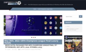 Championshotels.com thumbnail