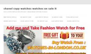 Chanel-copy-watches.watchesonsale.it thumbnail