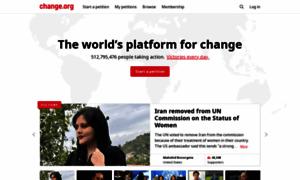 Change.org thumbnail