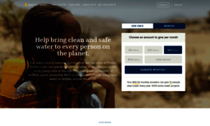 Charitywater.org thumbnail