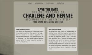 Charleneandhennie.invitesyou.co.za thumbnail