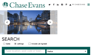 Chaseevans.co.uk thumbnail