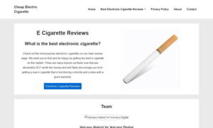Cheapelectriccigarette.net thumbnail