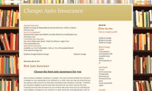 Cheapoautoinsurance.blogspot.com thumbnail