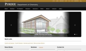 Chem.purdue.edu thumbnail