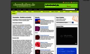 Chemikalien.de thumbnail