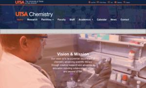 Chemistry.utsa.edu thumbnail