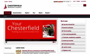 Chesterfield.gov.uk thumbnail