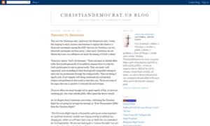 Christiandemocrat.us thumbnail